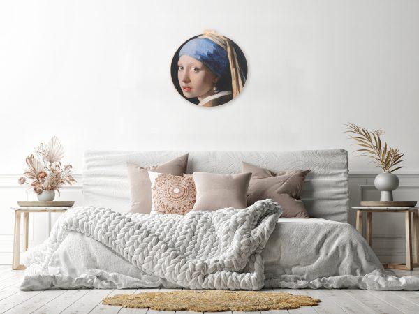 Zo kan het Meisje met de Parel I eruit zien in een basic slaapkamer